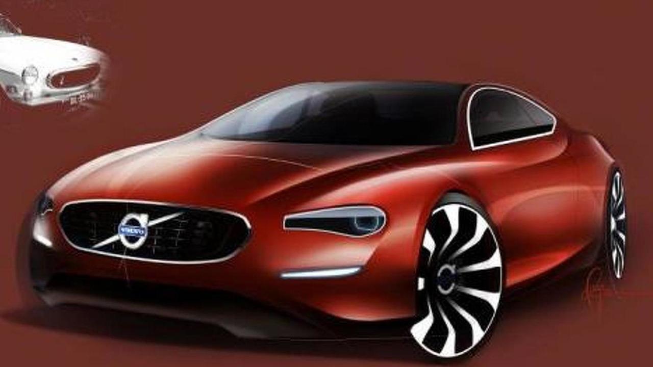 Volvo P1800 design sketch, 960, 09.12.2011