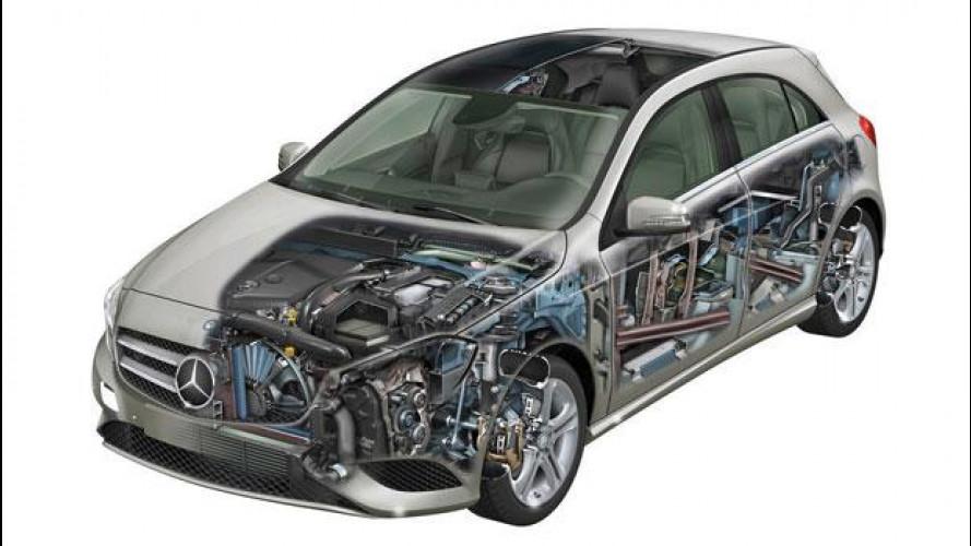 La sicurezza passiva nella Mercedes Classe A