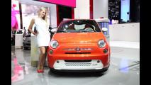 Fiat 500e al Salone di Francoforte 2013