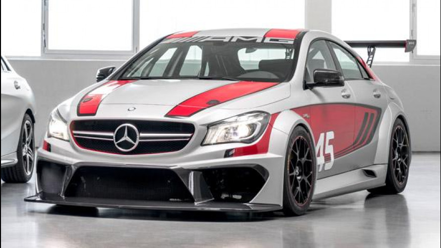 Mercedes CLA 45 AMG Racing Series Concept