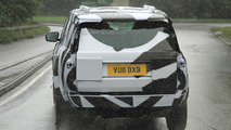 2013 Range Rover spy photos - 8.7.2011