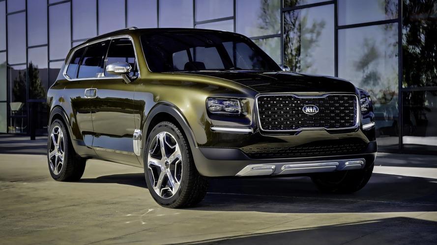Kia confirma produção do SUV Telluride, apesar do design...