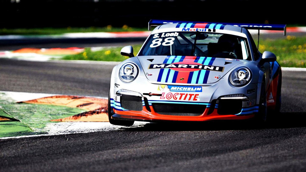 Porsche 911 GT3 Cup with MARTINI livery 07.5.2013