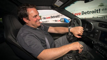 GM North America President Mark Reuss with the Corvette Stingray Pace Car 04.6.2013