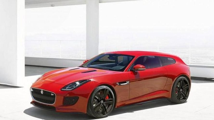 Jaguar F-Type Sportbrake rendered