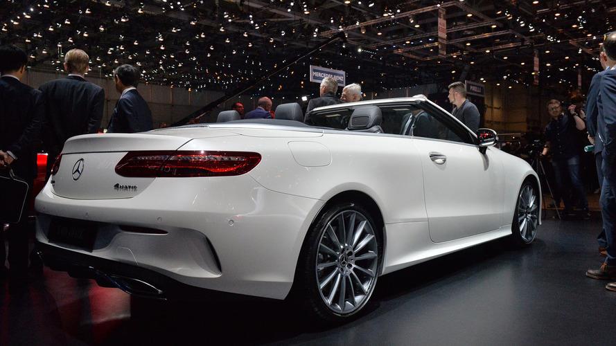 Genève 2017 - La Mercedes-Benz Classe E enlève le haut