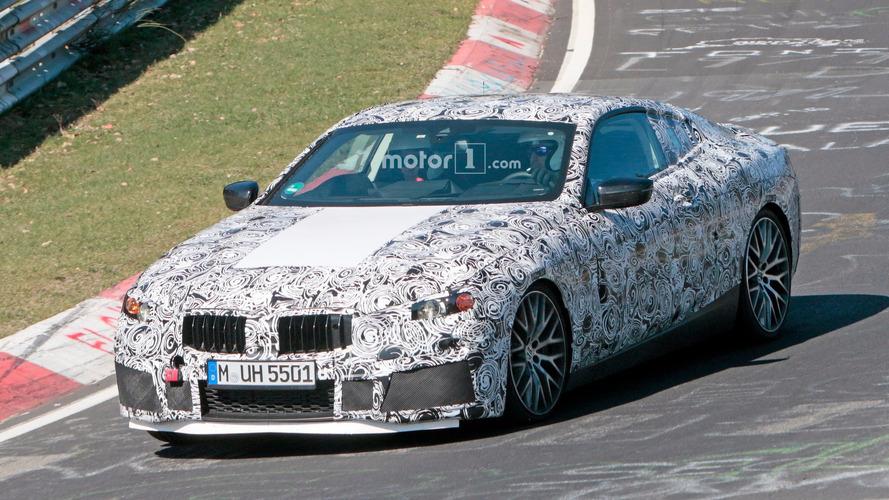 La BMW M8 s'échauffe avant son entrée en scène