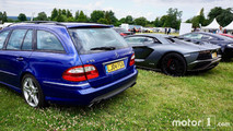 Parking supercars Goodwood 2017