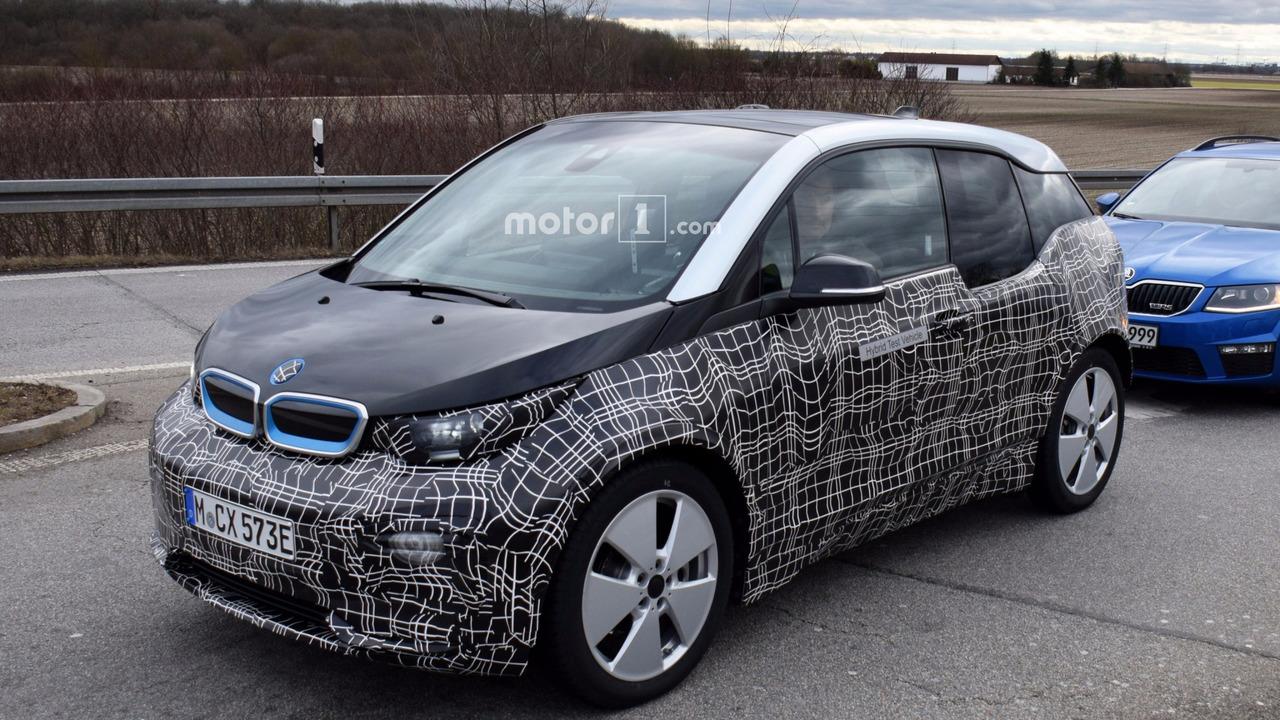 2018 BMW i3 facelift spy photo
