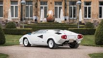 Lamborghini Countach plaquée or