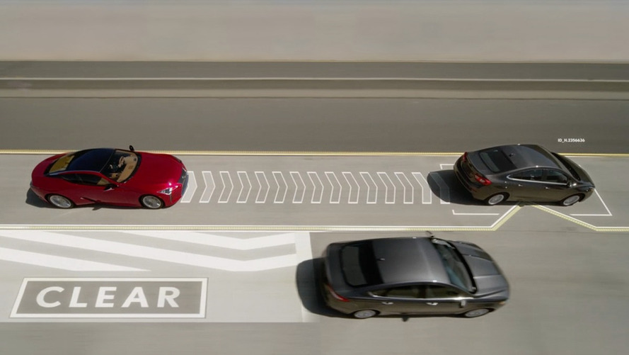 Lexus Lane Valet Tech Is Totally Real, Moves Other Cars Out Of The Way