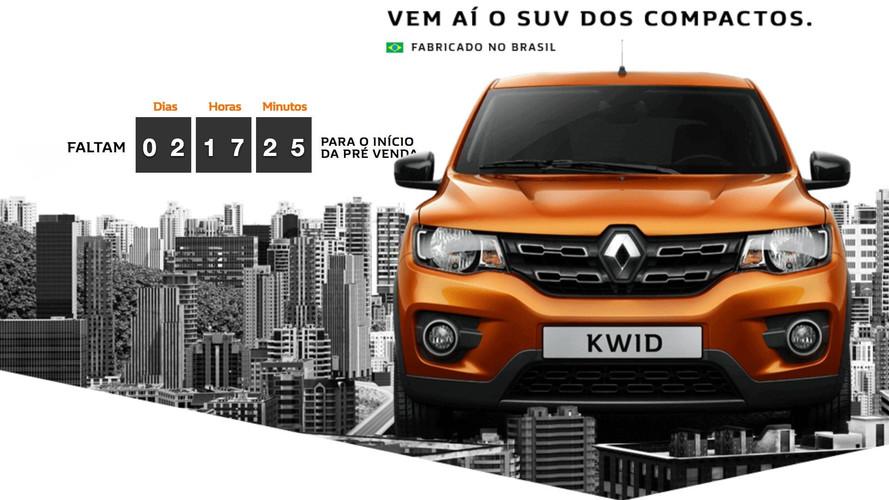 Pré-venda do Renault Kwid começa sexta-feira (9) - veja preços