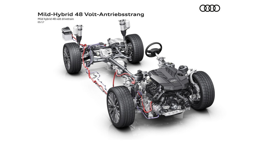 2018 Audi A8 Can Be Driven With The Engine Off At 160 Km/h