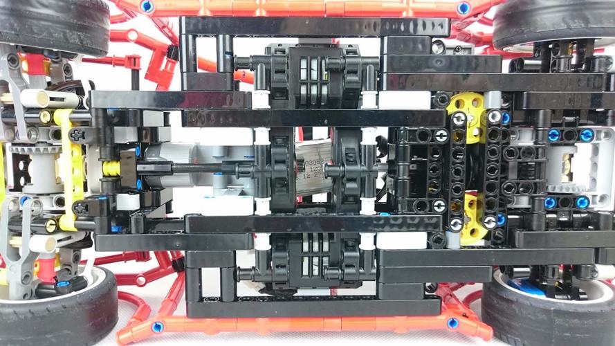 Lego Technic Custom 4WD Drift Wagon