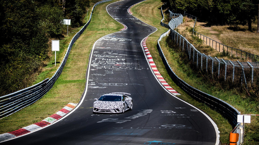 Lamborghini Huracán Performante achieves 'Ring lap record of 6:52.01