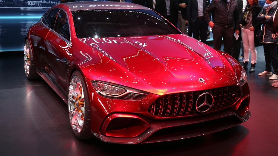 VIDÉO - Le concept Mercedes-AMG GT en direct de Genève