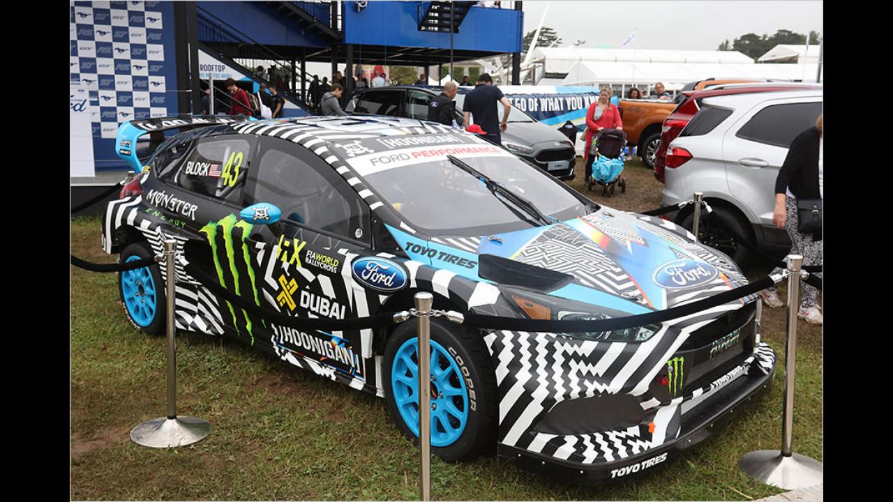 Ken Block über seine Chancen und Ziele in der World-Rallycross-Championship … (Stand 29. Juni 2016 ist Block 15ter der Fahrerwertung, sein Hoonigan Racing Team belegt in der Team-Wertung Rang vier)