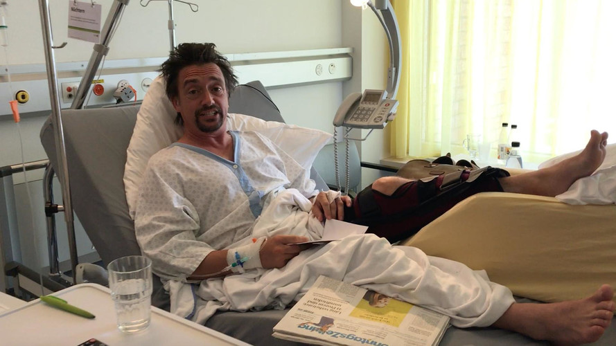 Richard Hammond in Swiss hospital
