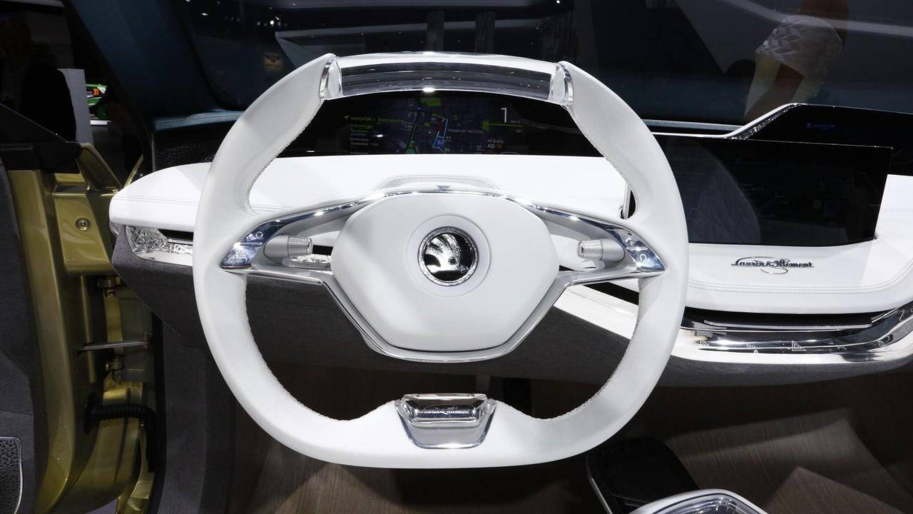See The Evolution Of Skoda S Steering Wheels Throughout
