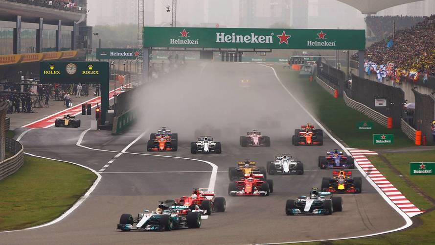 Le calendrier F1 2018 est officiel