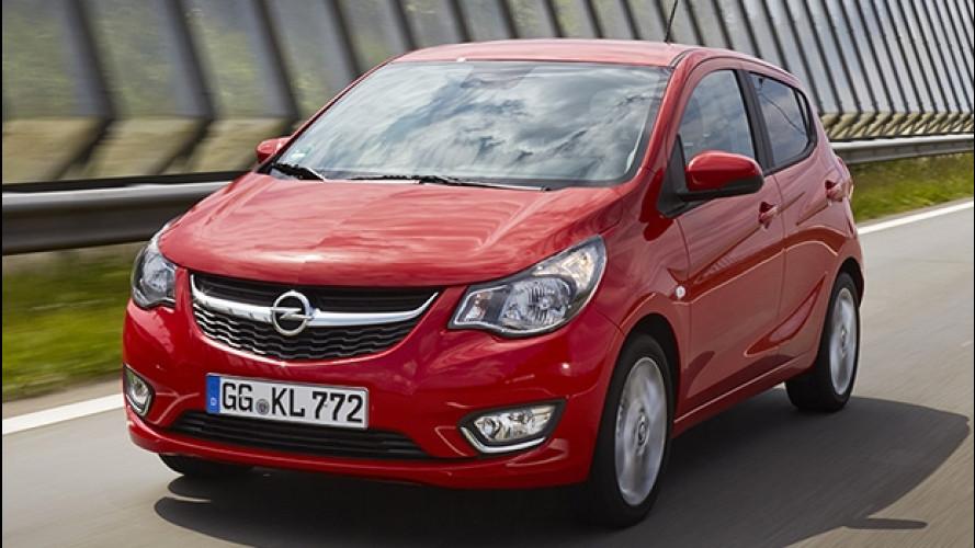 Opel Karl, col GPL è ancora più furba