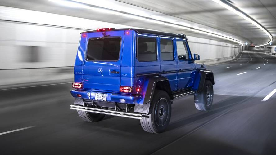 2017 mercedes benz g550 4x4 review size queen for Mercedes benz g550 4x4 squared