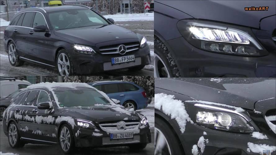2018 Mercedes C-Class Wagon Headlights