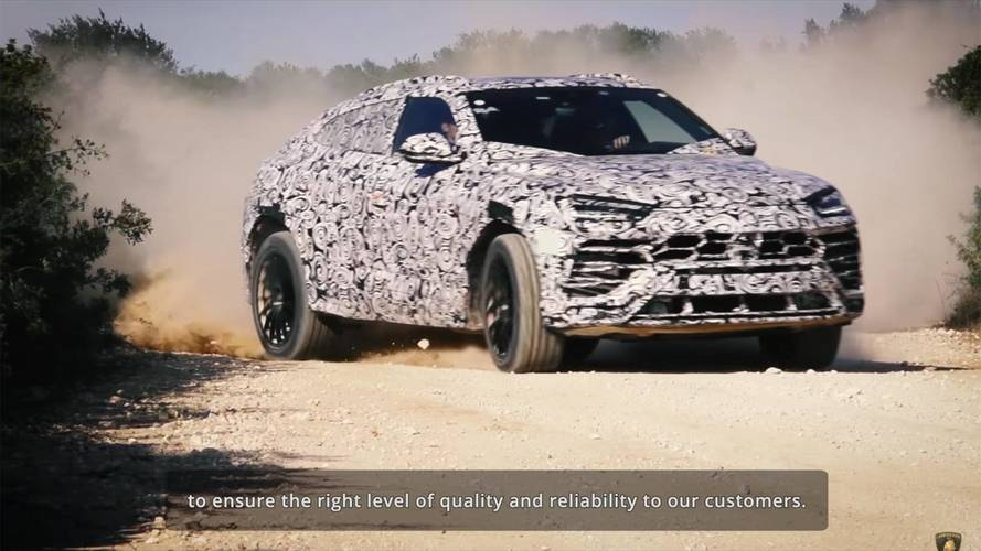 Lamborghini Had To Come Up With New Quality Tests For The Urus
