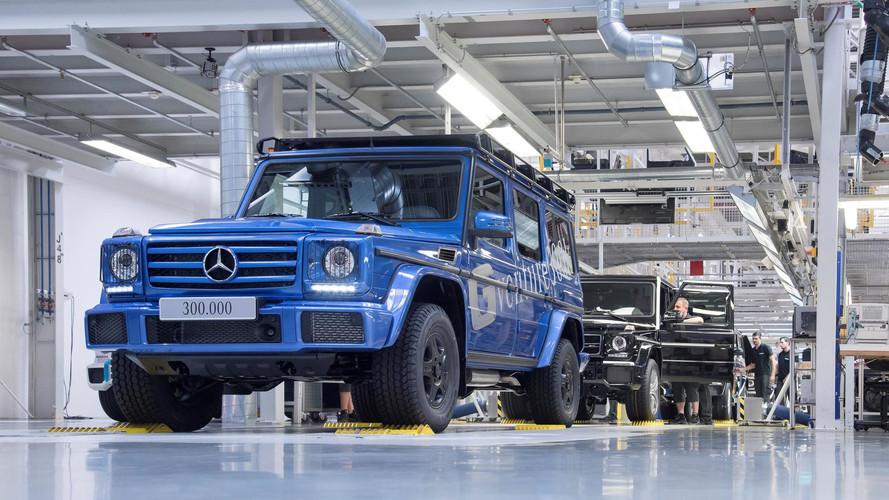 [VİDEO] 300,000'inci Mercedes G-Serisi nasıl üretildi?