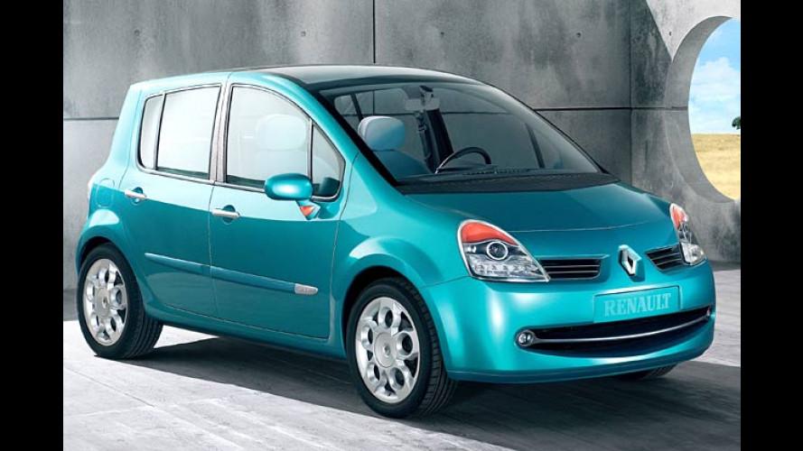 Renault Modus: Das Raum-Fahrzeug in der Clio-Klasse