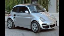 Fiat 500 sieht (fast) aus wie Porsche 911
