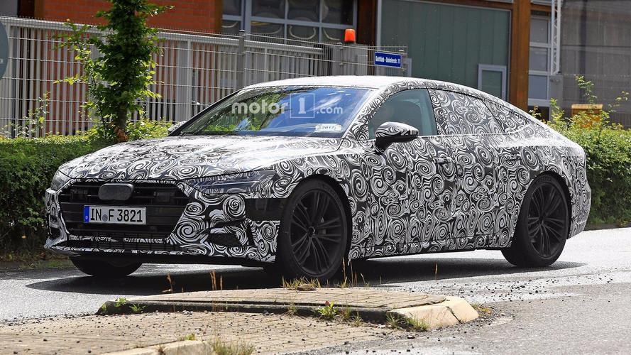2018 Audi A7 arka farlarını saklayamazken görüntülendi