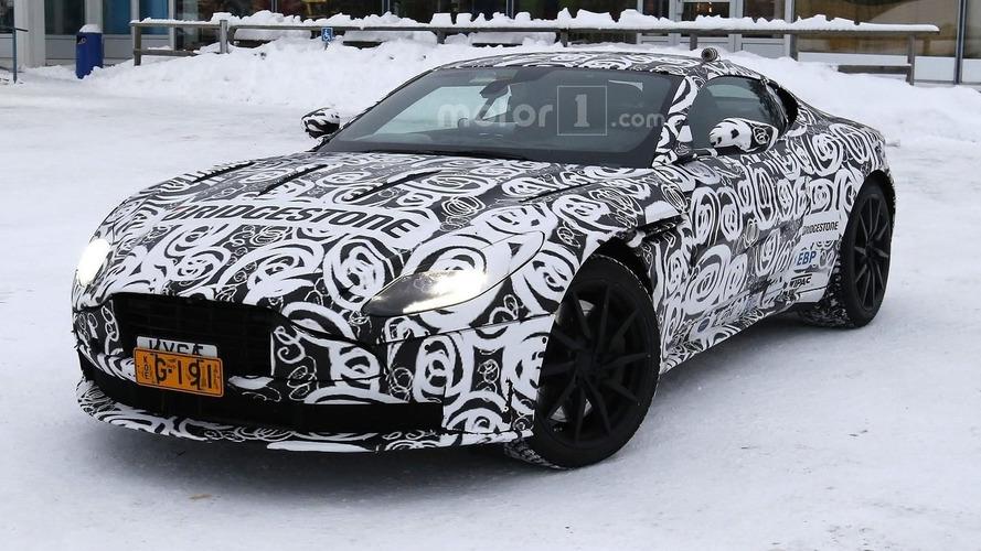 Aston Martin DB11 camo hides what we've seen already