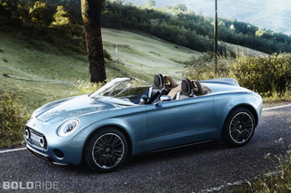 Mini Superleggera Vision is the Ideal British Roadster