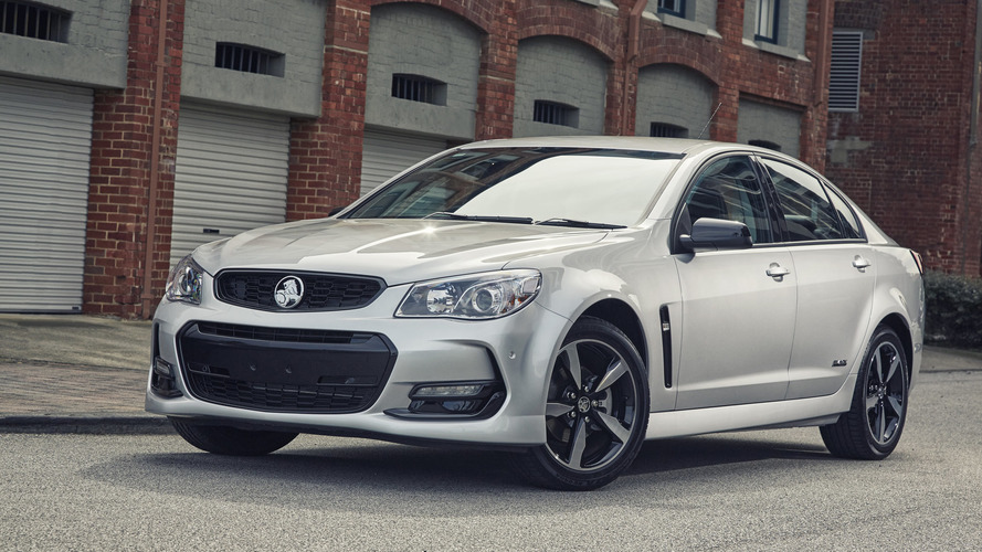 Holden Commodore Black edition announced