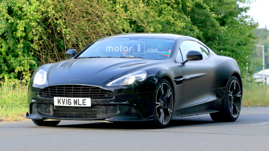 Hardcore Aston Martin Vanquish S spied at Nurburgring