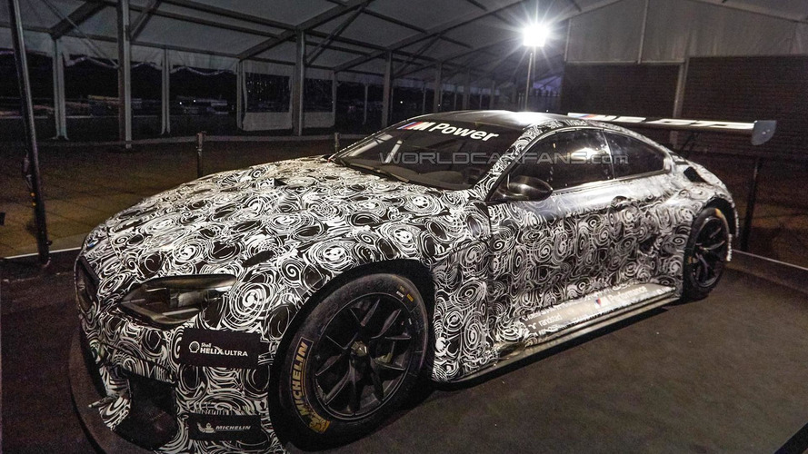 BMW M6 GT3 photographed again ahead of confirmed January 2016 reveal
