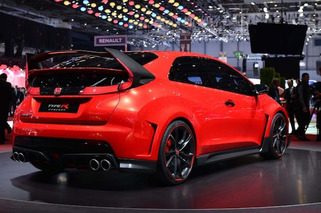Geneva: 280HP Honda Civic Type R Makes Fiery Debut