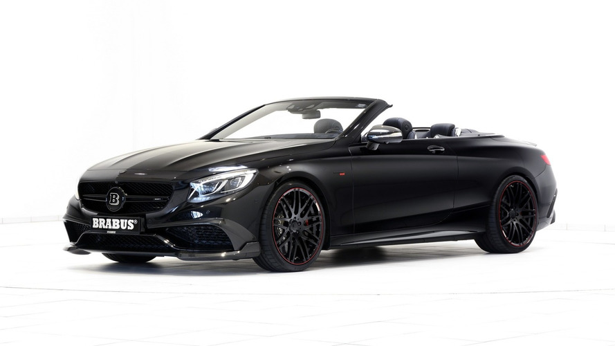 Brabus debuts world's fastest, most powerful four-seat cabrio at Le Mans