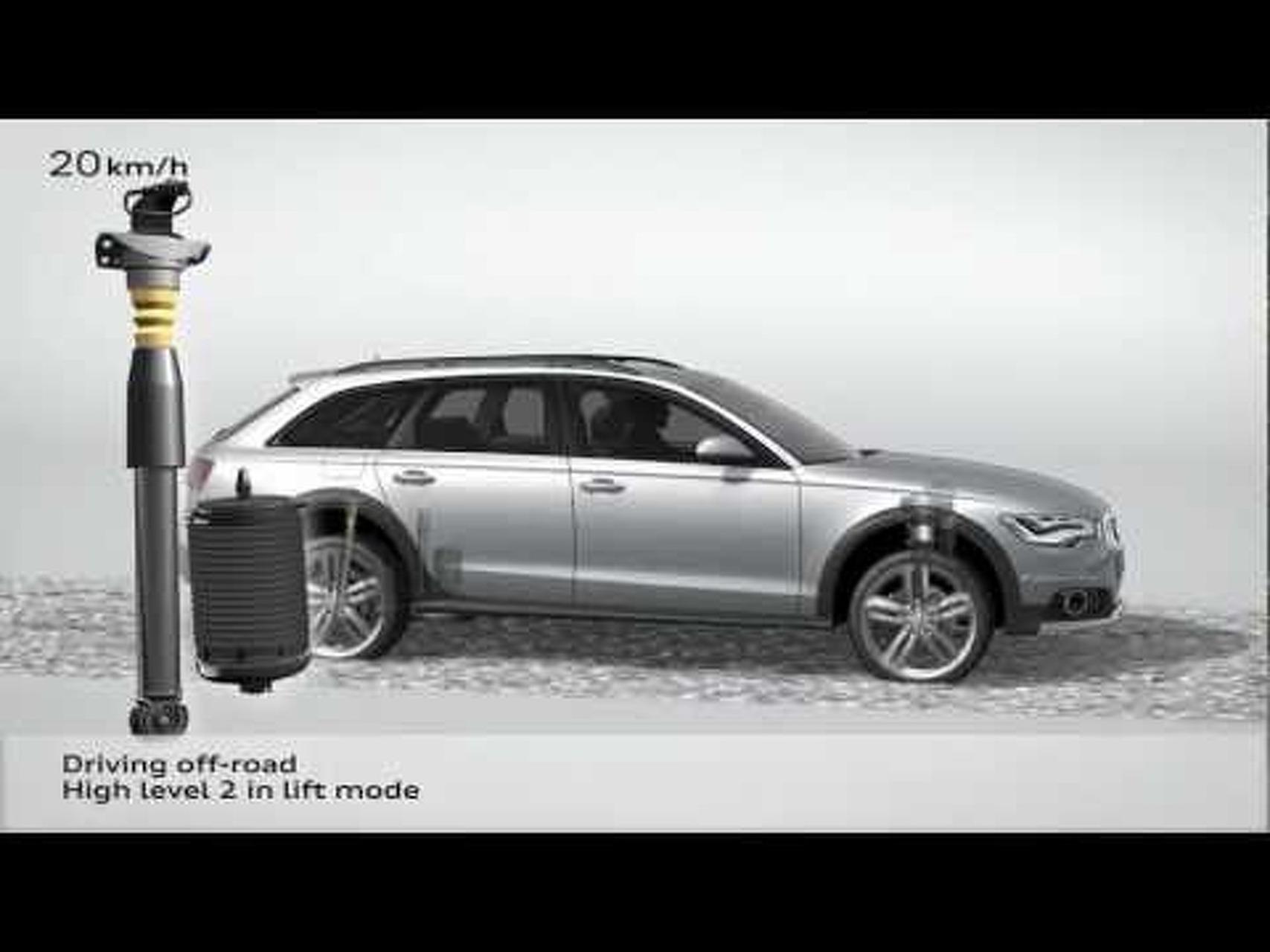 2013 Audi A6 Allroad Quattro Animation
