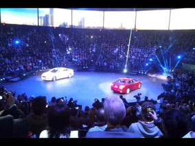 2013 Ford Fusion debut unveiling at naias