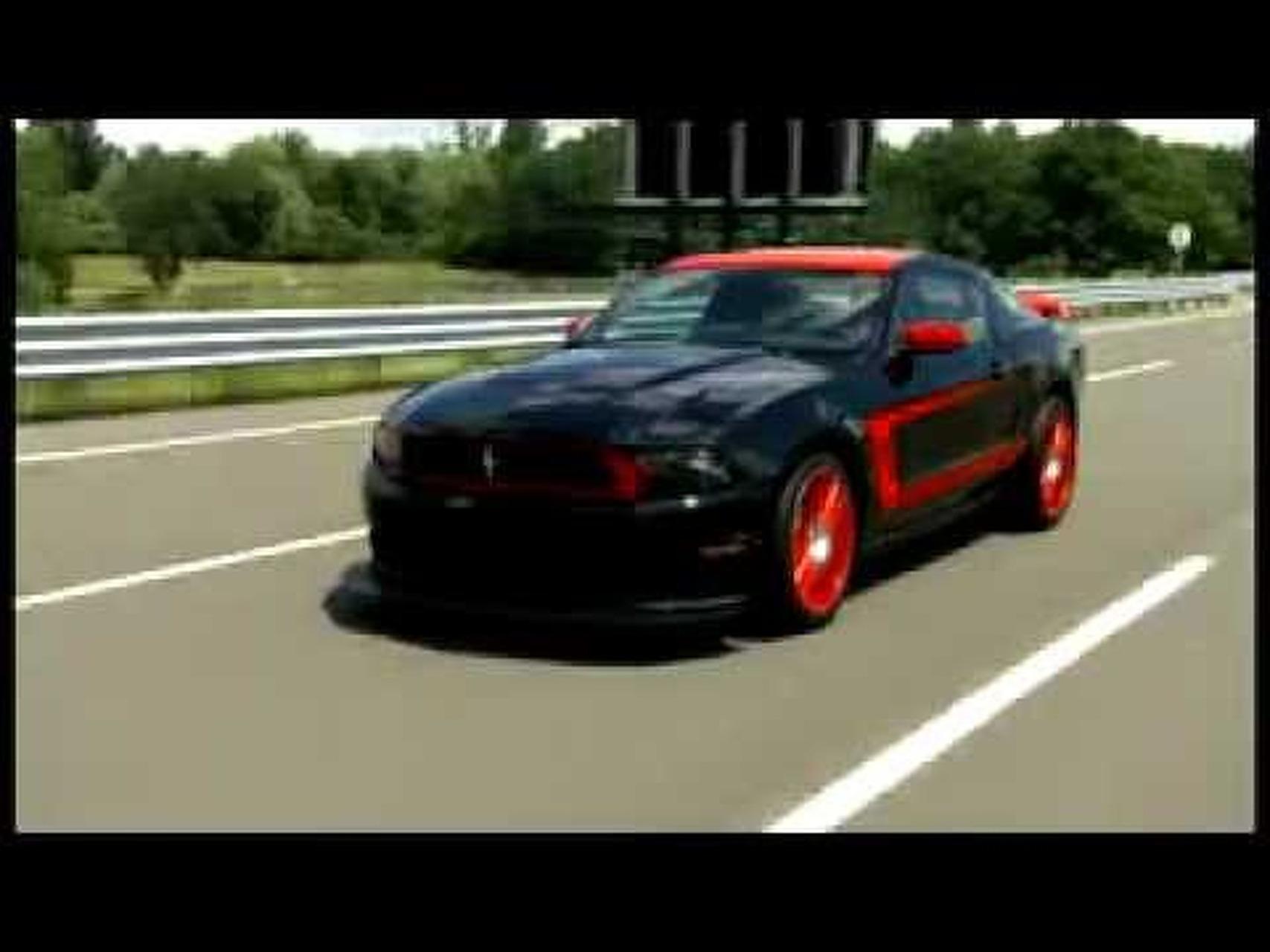2012 Mustang Boss 302 Laguna Seca Driving Footage