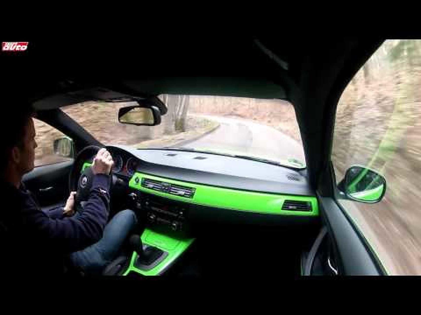 Alpina B3 GT3 408 PS 0-309 km/h Test sport auto Top Speed Limited BMW Alpina Nr. 4 of 99