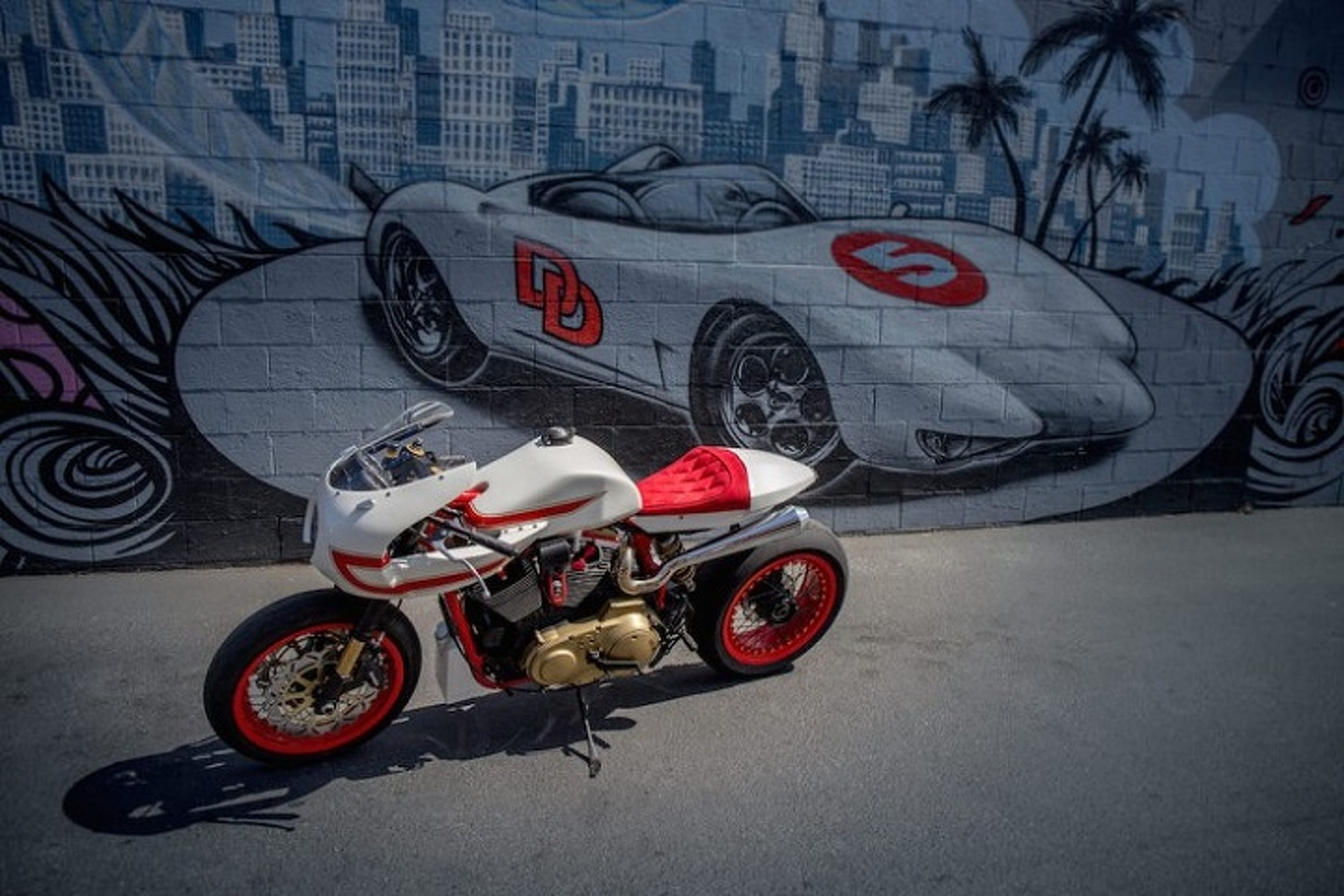 'Speed Racer' Harley-Davidson Looks Just Like The Mach 5