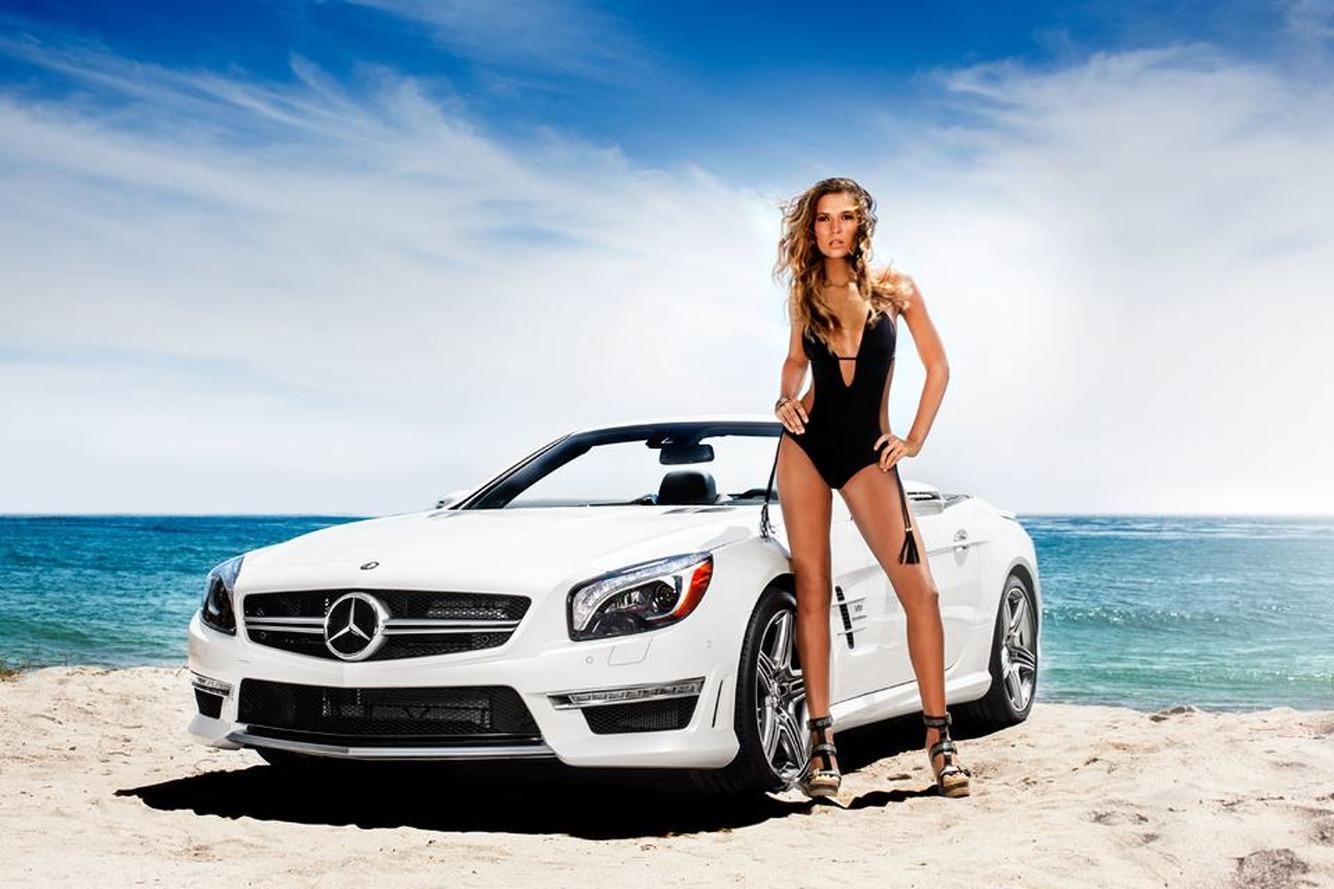 Fashion Week: Mercedes Gets Hot in South Beach