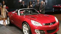 Opel GT unveiling at Geneva