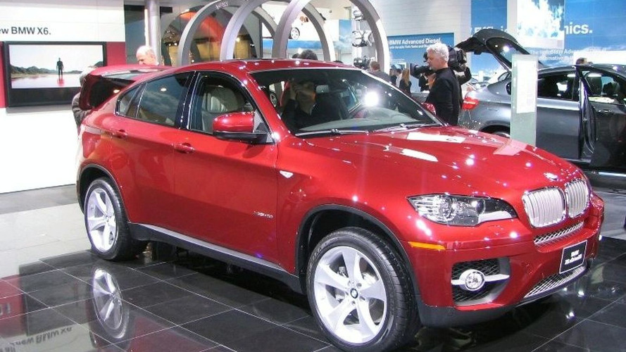 BMW X6 Production Version Debuts at NAIAS