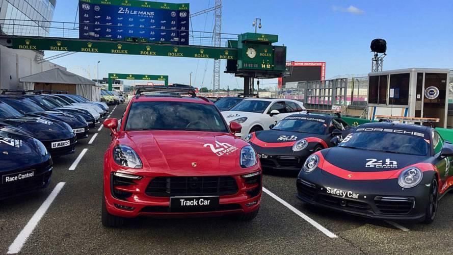 Porsche'nin Le Mans'da kullandığı güvenlik araçlarına göz atın