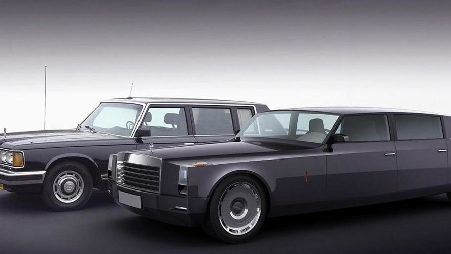 Concept proposes new Russian head of state limousine
