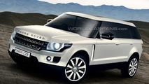 Next Generation Range Rover Artists Rendering